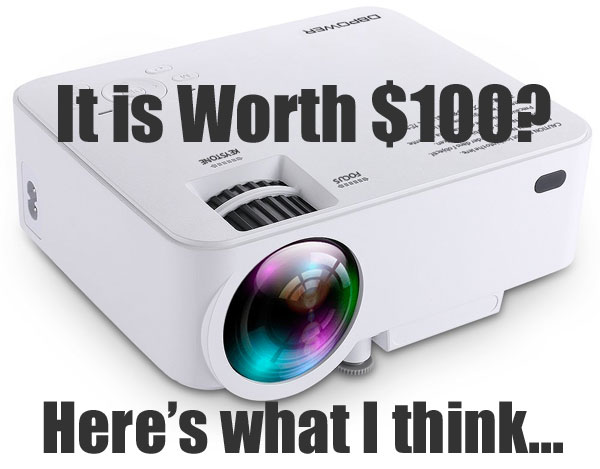 DBPower T20 Mini Projector: Is It Worth $100? Here's What I Think
