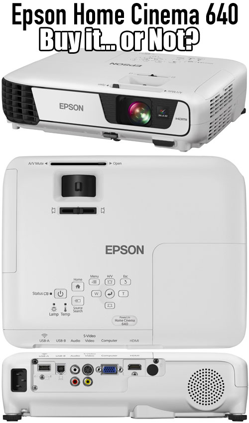 Should You Buy the 3LCD Epson Home Cinema 640?