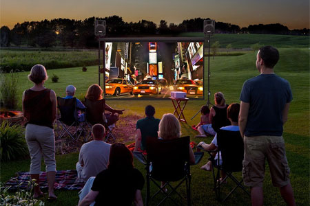 9' Outdoor Theater Package