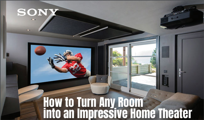 Sony VPL HW45ES Home Theater Projector