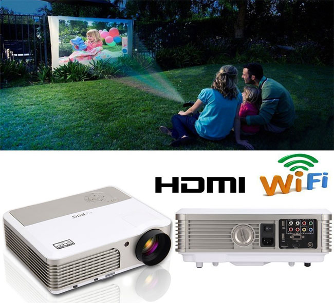 Wireless Outdoor Movie Projector